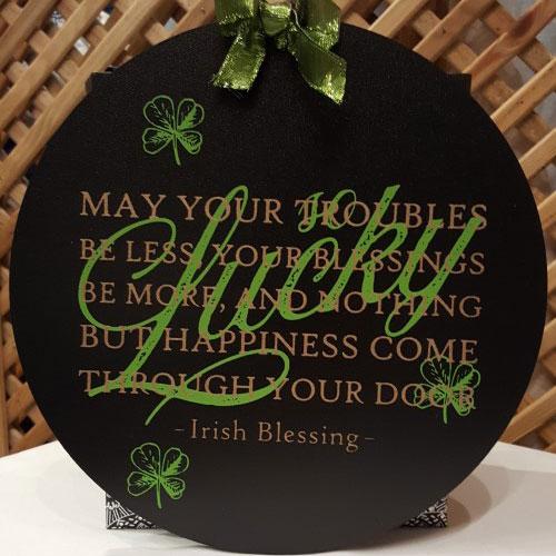 "Seasonal: ""Lucky"" Irish Blessing"
