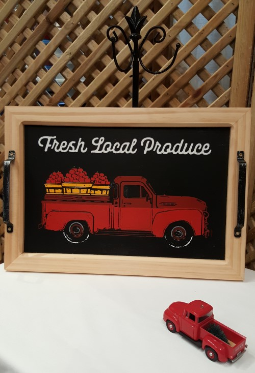 Tray: Red Truck