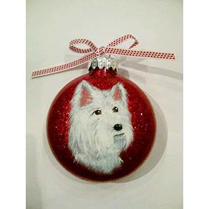 Pet Glass Bulb Ornament